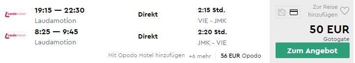 MYKONOS začiatkom leta s odletom z Viedne za veľmi dobrých 50€