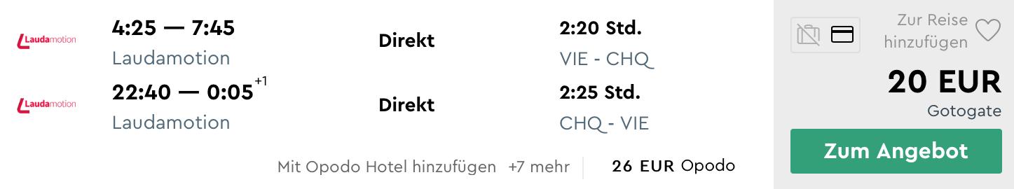 KRÉTA začiatkom leta od parádnych 20€ (odlet z Viedne)