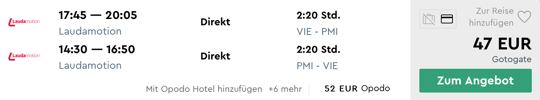 MALLORCA v lete za výborných 47€ (odlet z Viedne)