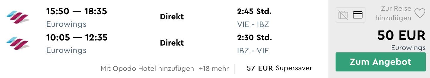 TOP: IBIZA cez letné prázdniny za skvelých 50€ (odlet z Viedne)