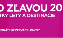 Super ponuka Wizz Air: 20% zľava na všetky lety a všetky destinácie (napr. Viedeň – Reyjkavík v júni za parádnych 59€)