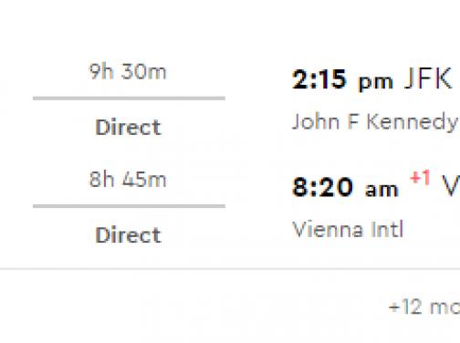 NEW YORK bez prestupu za parádnych 280€ (odlet z Viedne)