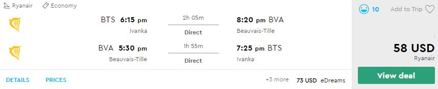 Predĺžený augustový víkend v PARÍŽI za parádnych 155€ na osobu (letenka z Bratislavy + 3* hotel na 3 noci)