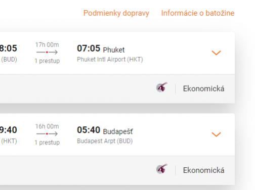 PHUKET v TOP sezóne s Qatar Airways a odletom z Budapešti za veľmi dobrých 489€ (batožina v cene!)