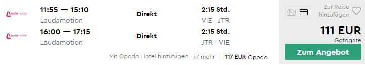 SANTORINI koncom letných prázdnin už za 111€ (odlet z Viedne)