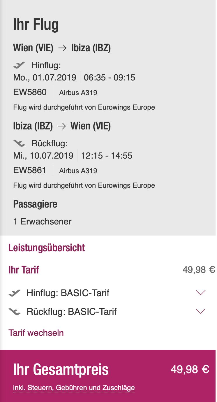 Z Viedne na IBIZU počas letných prázdnin za skvelých 50€