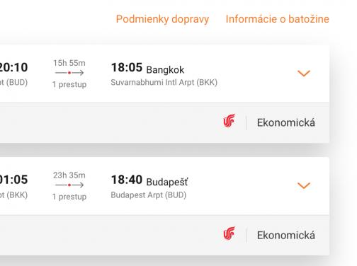 Budapešť – BANGKOK už aj s batožinou za výborných 389€ (termíny aj na vianoce!)