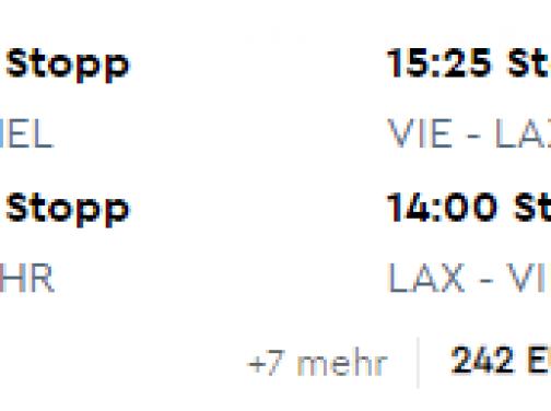 Októbrové LOS ANGELES od fantastických 231€ (odlet z Viedne)