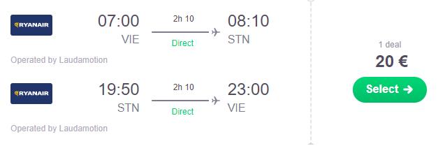 LONDÝN na 2 celé dni za parádnych 68€ na osobu (letenka z Viedne + hotel s raňajkami na 1 noc)