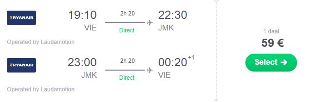 MYKONOS koncom letných prázdnin za veľmi dobrých 59€ (odlet z Viedne)