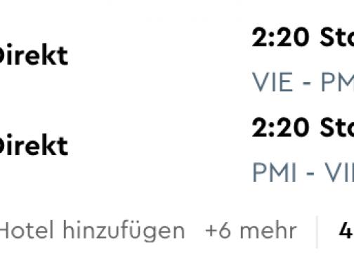 MALLORCA: na neskoršiu letnú dovolenku už od 39€ (odlet z Viedne)