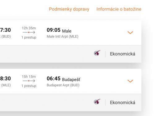 MALDIVY s Qatar Airways a odletom z Budapešti za výborných 549€ (batožina v cene!)