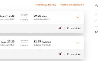 MALDIVY pre dvoch s odletom z Budapešti za parádnych 499€ na osobu (batožina v cene!)