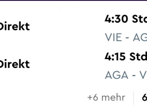 Marocký AGADIR s odletom z Viedne od skvelých 54€