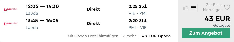 MALLORCA koncom leta s odletom z Viedne za výborných 43€