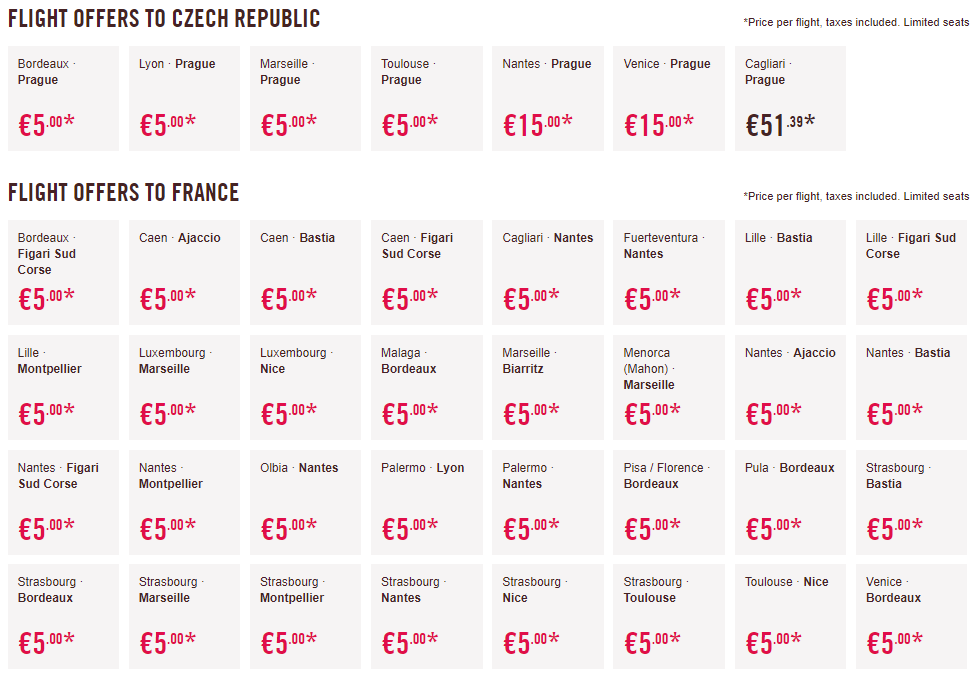 Veľký výpredaj Volotea pre všetkých: napr. Viedeň – Bordeaux už za skvelých 5€ jednosmerne