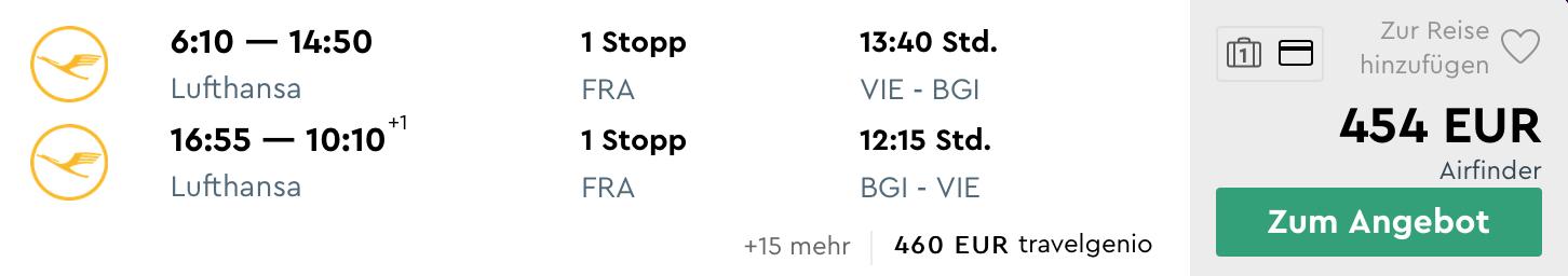 BARBADOS s odletom z Viedne a batožinou v cene za parádnych 454€ (aj Silvester!)