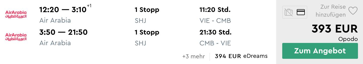 SRÍ LANKA: Colombo s odletom z Viedne za parádnych 393€ (veľa termínov)
