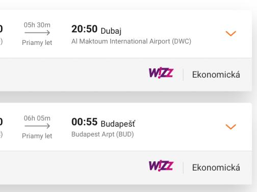 Budapešť – DUBAJ bez prestupu od parádnych 120€