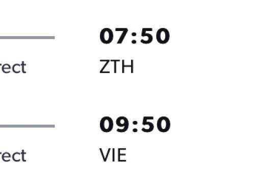 Na letnú dovolenku na ZAKYNTHOS s odletom z Viedne za výborných 92€