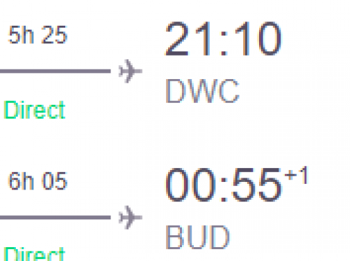 DUBAJ s odletom z Budapešti od fantastických 129€ (členovia WDC od ešte lepších 101€)