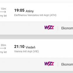 ATÉNY na predĺžený víkend s odletom z Viedne za skvelých 17€