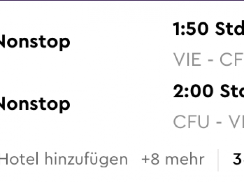 6 dní na KORFU za parádnych 187€ na osobu (letenka z Viedne + 3* hotel s raňajkami na 5 nocí)
