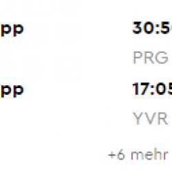 Jarný VANCOUVER s odletom z Prahy od výborných 356€