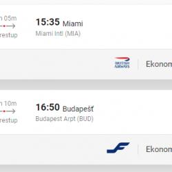 Za slnkom na MIAMI za výborných 299€ (odlet z Budapešti)