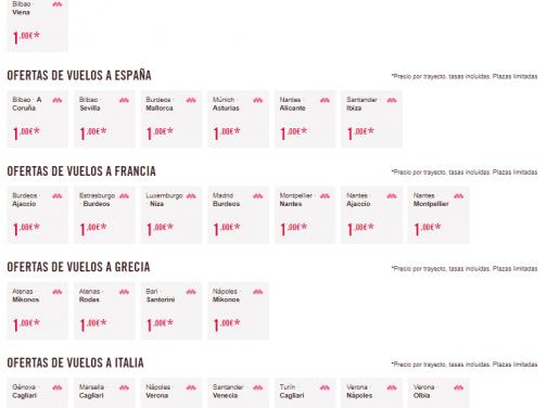 Veľký výpredaj Volotea: letenky po celej Európe – napr. Viedeň – Bilbao už od 1€ jednosmerne (LEN PRE ČLENOV MEGAVOLOTEA)