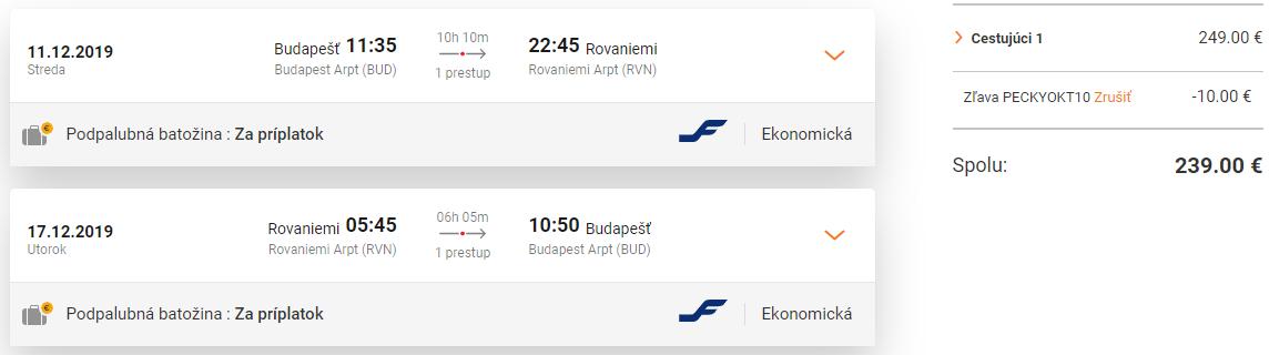 ROVANIEMI: za Santa Clausom do Laponska za veľmi dobrých 239€