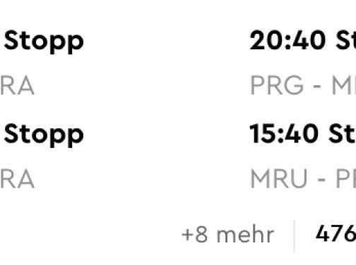Z Prahy na Maurícius od výborných 473€ (batožina v cene a termín aj na vianoce!)