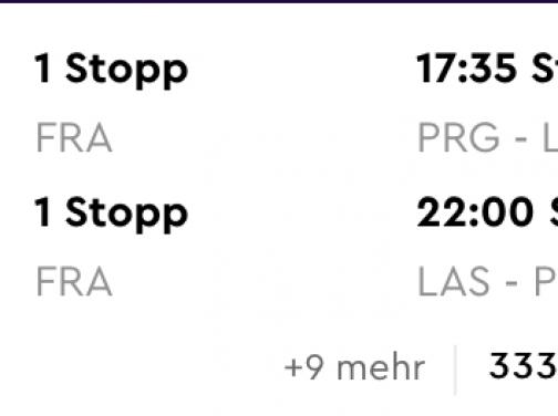 LAS VEGAS s odletom z Prahy už od skvelých 328€ (batožina v cene!)