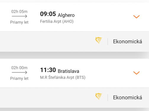 TOP ponuka: SARDÍNIA za neskutočných 15€ (Bratislava – Alghero)