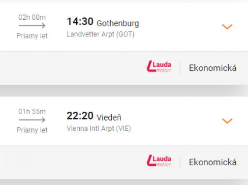 Švédsky GÖTEBORG za fantastických 8€ (odlet z Viedne)